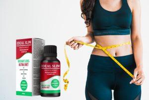 Ideal Slim капки, съставки, как да го приематe, как работи, странични ефекти